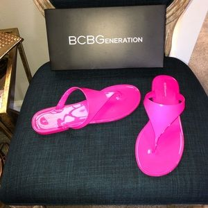 BCBGENERATION STARR JELLY FLASH PINK 9M